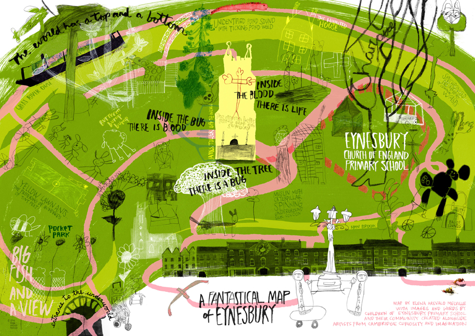 Fantastical Map of Eynesbury FINAL WEB